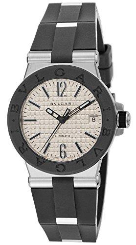 [ブルガリ]BVLGARI 腕時計 ディアゴノ シルバー文字...