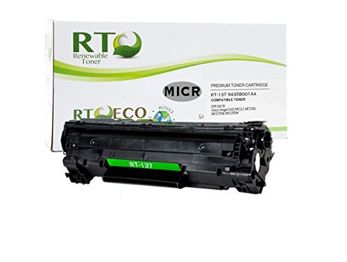 Renewable Toner 137互換MICR交換用トナーカートリッジ Canon 9435B001AA 適合機種 Canon imageCLASS MF212 MF216N MF227DW MF229DW