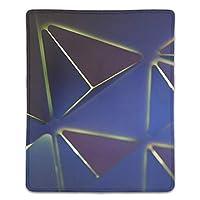 マウスパッド 滑り止め 天然ゴム 長方形 抽象的な三角形