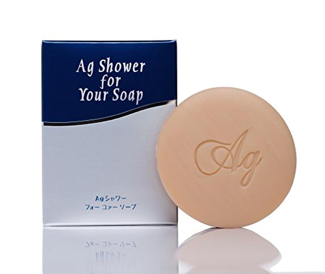 バーチャル結果急ぐスキンケアー石鹸 Agシャワーフォーユァーソープ 消臭・抗菌 100g