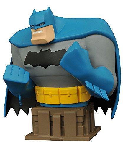 DCミニバスト バットマン アニメイテッド バットマン(レジェンド・オブ・ダークナイト版) 高さ約15センチ レジン製 塗装済み 完成品フィギュア