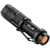 DingDong SK98調整可能なフォーカスズームUltraFire CREE XML-T6 LED 1200LM 18650バッテリー防水性懐中電灯トーチ3モード