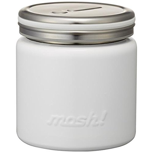 RoomClip商品情報 - フードコンテナ 真空断熱 フードポット 0.3L ホワイト mosh! (モッシュ! ) DMFP300WH