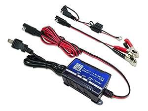 スーパーナット バイク用12Vバッテリー充電器 BC-GM12-V(12V用)