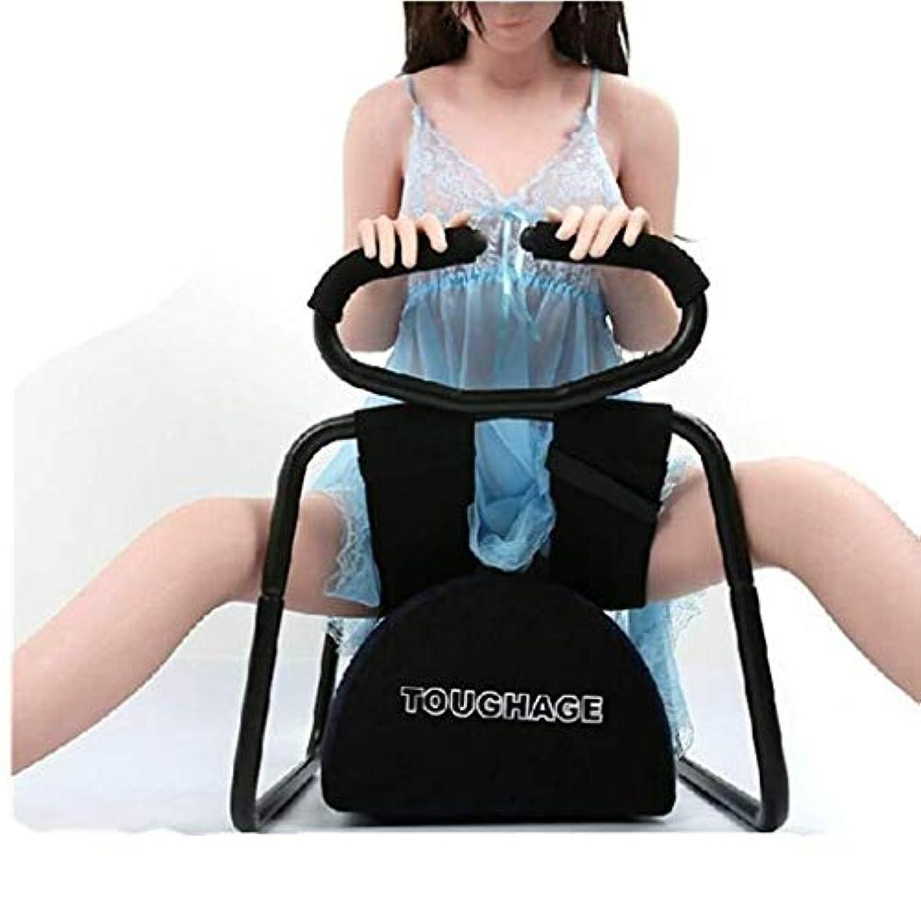 パノラマ落ち着かないキャンディーRisareyi 多機能椅子、弾性ハーネスベルト椅子、セックスシート、カップルのためのステンレス鋼の椅子を探検、ボディゲーム