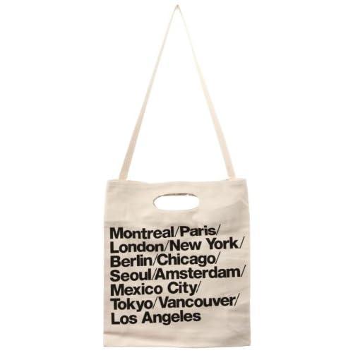 (アメリカンアパレル) American Apparel ブルデニムウォーバンシティストラップバッグ - Natural / One Size
