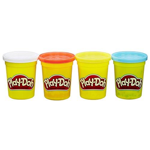 ハスブロ こむぎねんど プレイ・ドー きほんの4色セット 【子ども 知育玩具 粘土】 Hasbro Play-Doh 4-Pack of Classic Colors B6508 正規品