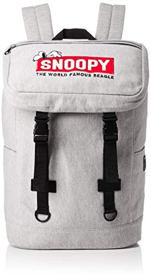 特許槍ベアリングサークル[スヌーピー] フラップポケット SNOOPYロゴ スウェットリュック SPR-584b