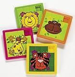 動物園動物スライドパズル–ゲーム&アクティビティ&パズル
