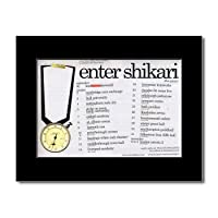 ENTER SHIKARI - UK Tour 2008 Mini Poster - 21x13.5cm