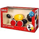 BRIO (ブリオ) プルトイ ローリングエッグとアリさん [ 木製 おもちゃ ] 虫 30367