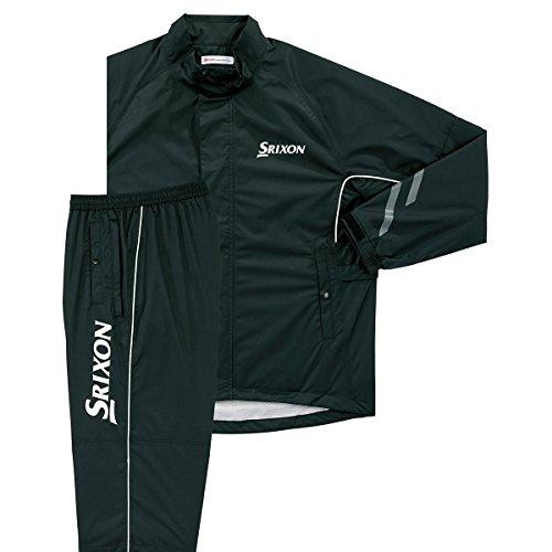 DUNLOP(ダンロップ) SRIXON レインジャケット&パンツ メンズ SMR6000 ブラック L