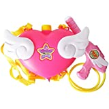 水鉄砲 バックパック式 リュックサック式 背負う 水遊び 子供のおもちゃ 天使の翼 大容量タンク型水鉄砲 3L
