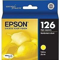 Epson–t126420(126)大容量インク、黄色–epst126420