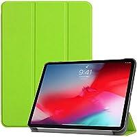 New iPad Pro 11 2018 ケース HKKAIS iPad Pro 11インチ 2018 カバー スタンド機能付き 保護ケース 強力な磁石 薄型 超軽量 全面保護型 iPad Pro 11インチ 2018 スマートタブレット ケース
