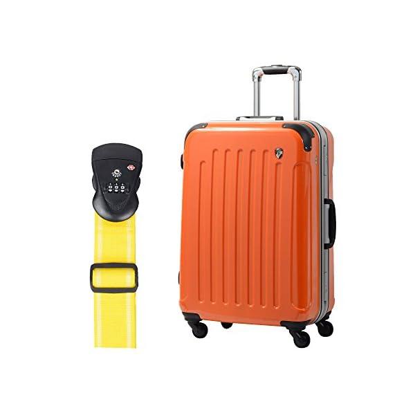 S型 マンダリンオレンジ+TSAベルト【イエロー...の商品画像