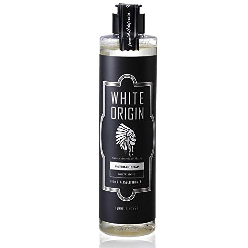 チロ国民投票地区WHITE ORIGIN ボディソープ 300ml 加齢臭 ケア オーガニック ナチュラル 男前 乾燥 ホワイトローズ