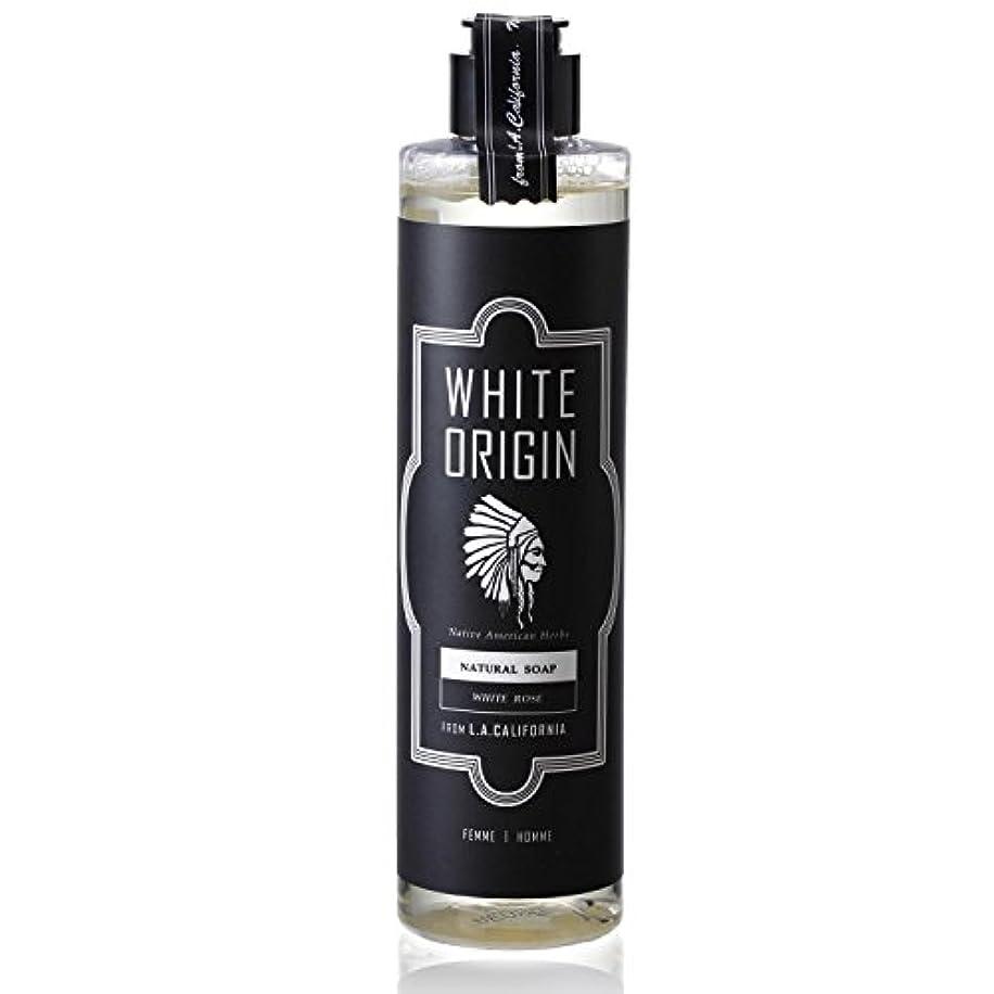 真鍮栄光のドルWHITE ORIGIN ボディソープ 300ml 加齢臭 ケア オーガニック ナチュラル 男前 乾燥 ホワイトローズ