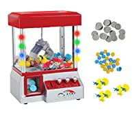 Electronic Claw Toy Grabber Machine With LED Lights by TSF TOYS
