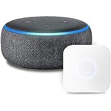 Echo Dot 第3世代 - スマートスピーカー with Alexa、チャコール + Nature スマートリモコン Remo mini