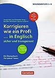 Klasse 5-13 - Korrigieren wie ein Profi in Englisch: Buch mit Kopiervorlagen und CD-ROM