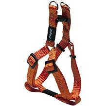 Rogz Nitelife Step-in Harness Orange Sml