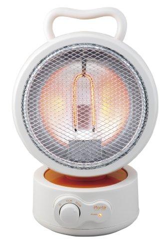 植物系炭素発熱体「ピアンテカーボンヒーター」 【速暖/省エネ】 300W バーントオレンジ PCH-S300U(O)