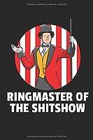 Ringmaster Notizbuch: Ringmaster Zirkus Notizbuch / Notizheft / Notizblock A5 (6x9in) Dotted Notebook / Punkteraster / 120 gepunktete Seiten