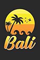 Bali: 6x9 Bali | grid | squared paper | notebook | notes