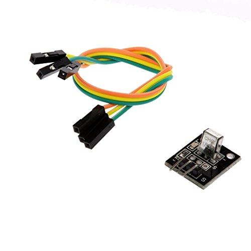 『WINGONEER Arduinoのための新しいスタイルの赤外線IRワイヤレスリモートコントロールセンサーモジュールキット』の1枚目の画像