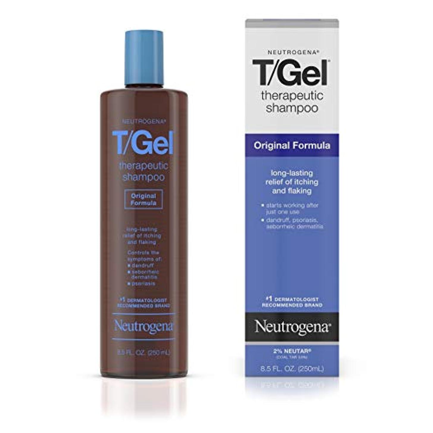 告白忌まわしい侵入Neutrogena T/Gel Shampoo Original 250 ml (並行輸入品)