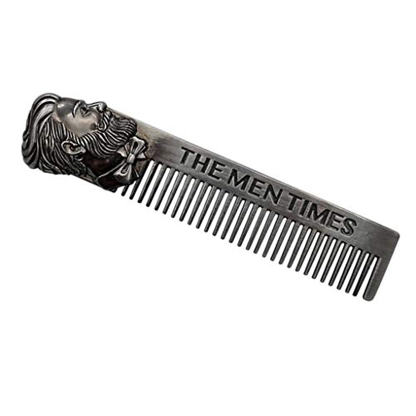 軽蔑壁紙震えToygogo 男性用ハンドポリッシュコーム-頭髪、ひげ、口ひげケアに最適-ポケットサイズ