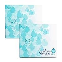 ≪2箱≫ピュアナチュラルワンデー ライフ PureNatural Life 1day/30枚 使い捨てコンタクトレンズ (-4.25)