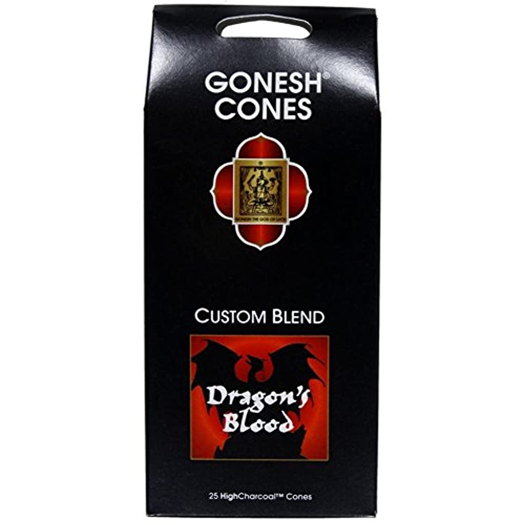 レギュラーに応じてファイバGonesh – ドラゴンブラッドExtra Rich Incense Cones