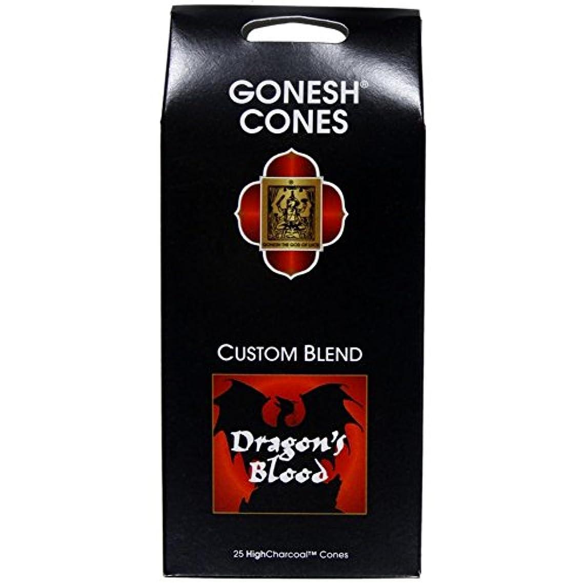名誉ある寸前雇うGonesh – ドラゴンブラッドExtra Rich Incense Cones