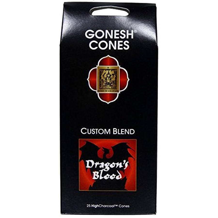 人道的ゆるくロードハウスGonesh – ドラゴンブラッドExtra Rich Incense Cones