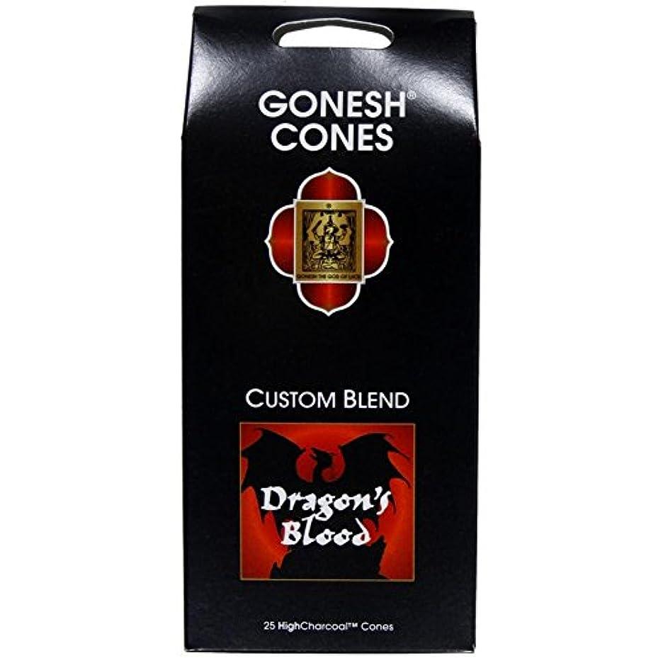 文字びっくりする絶壁Gonesh – ドラゴンブラッドExtra Rich Incense Cones