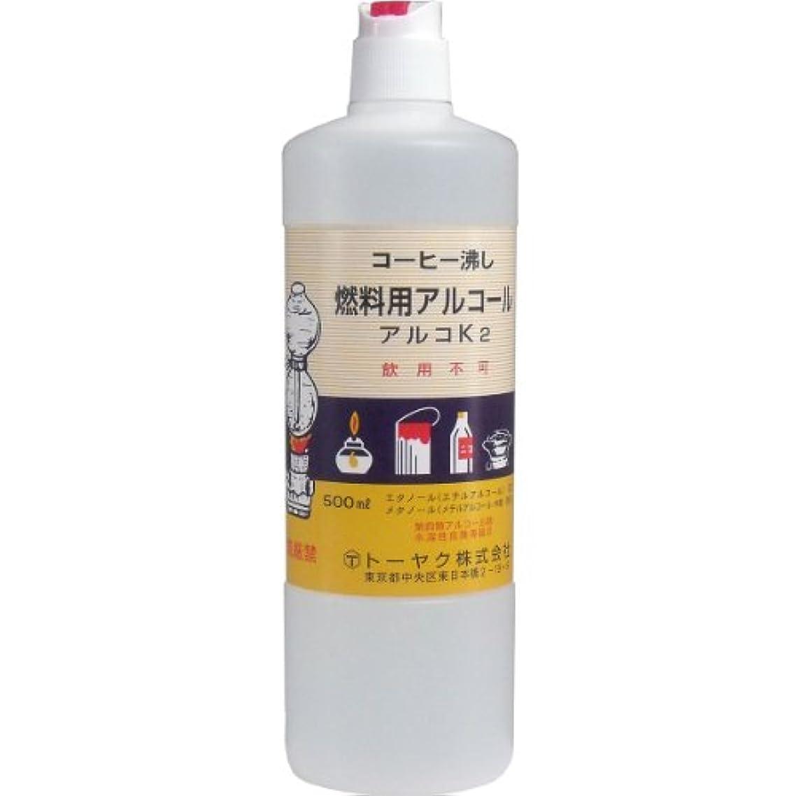 ピッチャーアフリカ人局燃料用アルコール アルコK2 ×3個セット