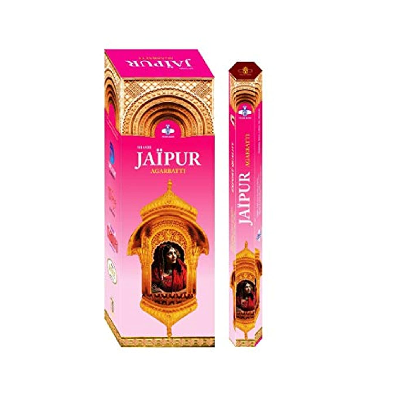 債権者原因時計Shashi's Jaipur Incense Sticks (Pack of 6)