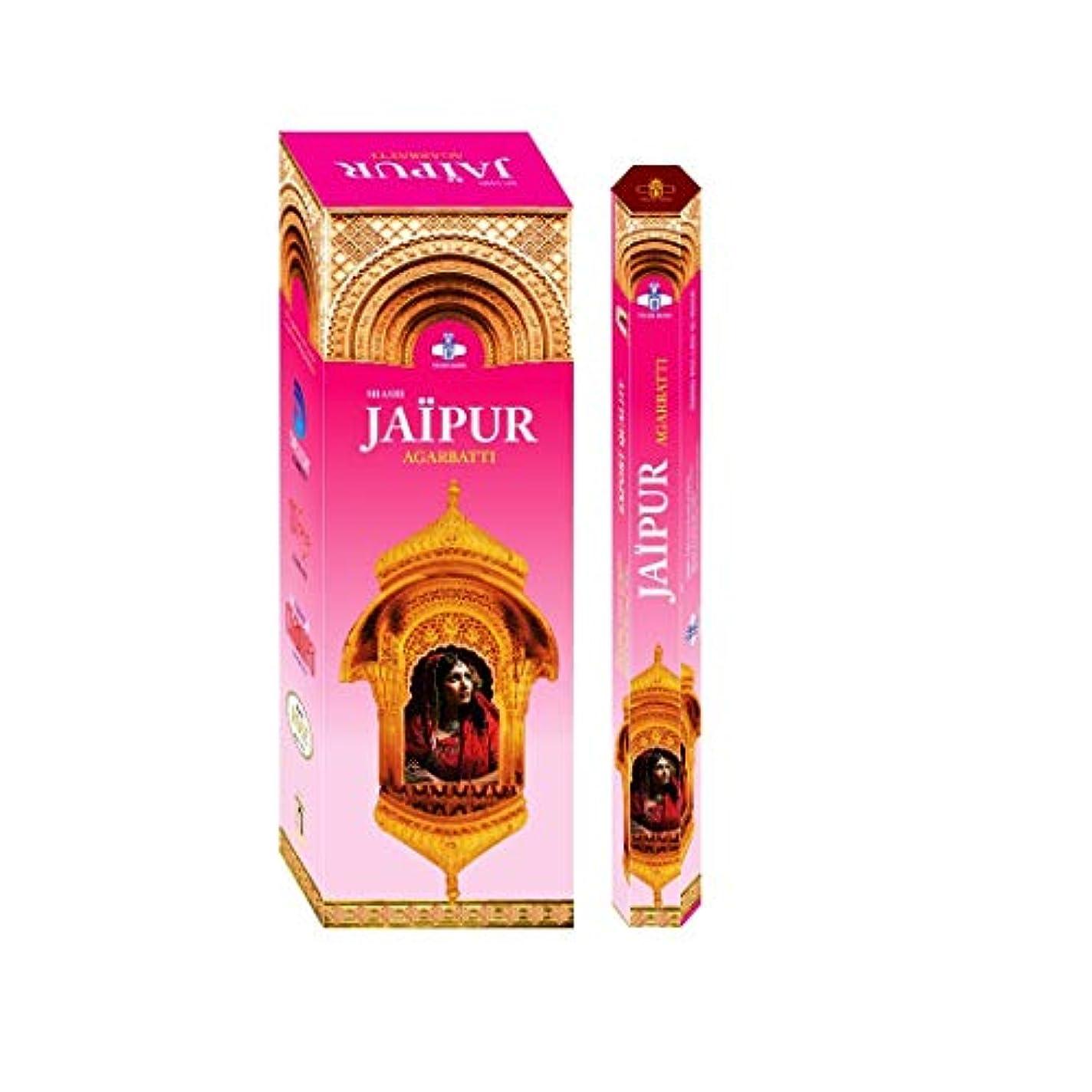 剥離スリラー完全に乾くShashi's Jaipur Incense Sticks (Pack of 6)