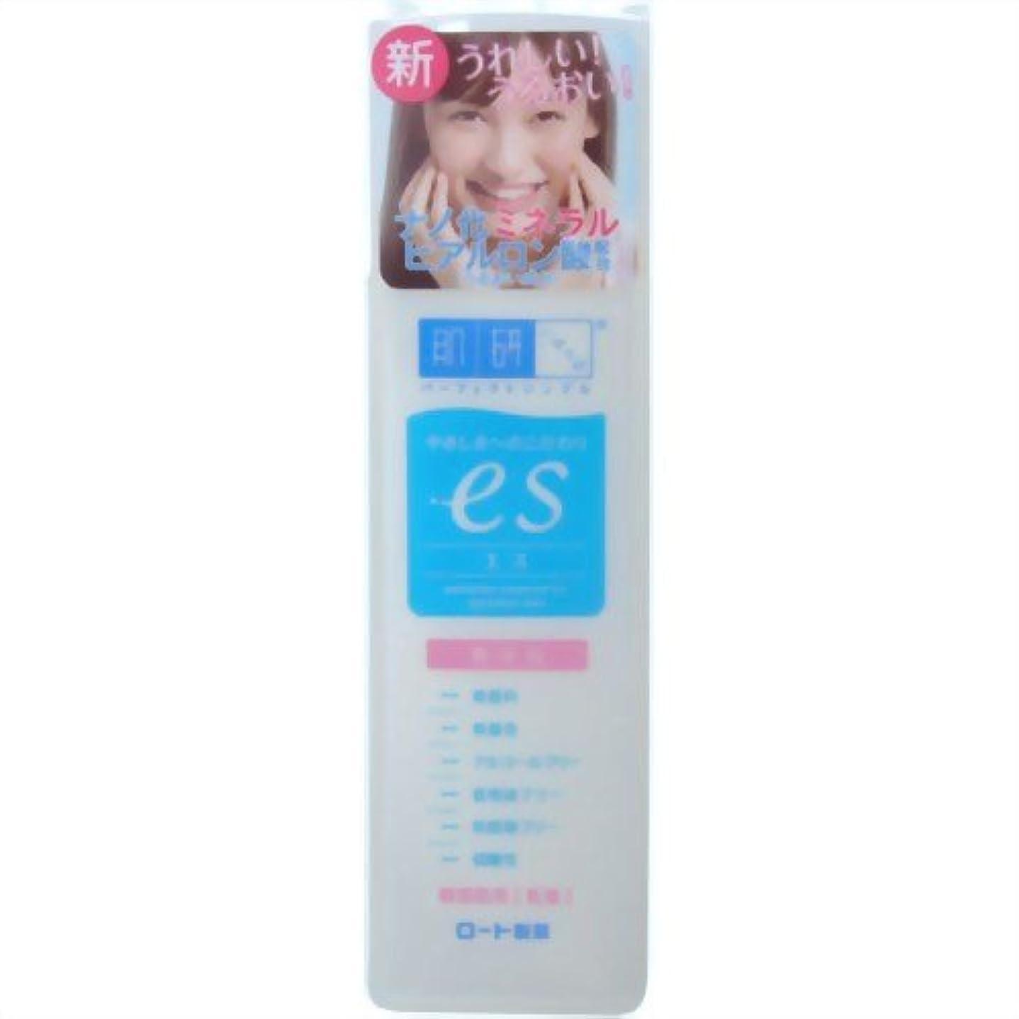 どこ備品苦悩肌ラボ es(エス) ナノ化ミネラルヒアルロン酸配合 無添加処方 乳液 140ml