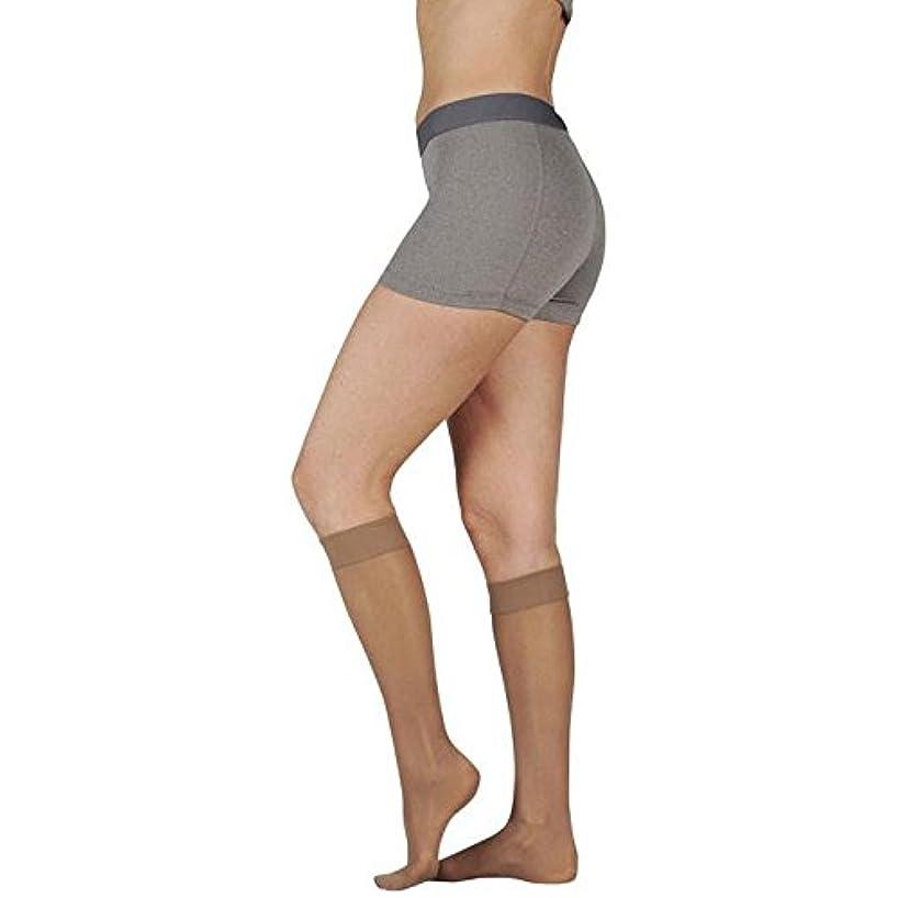 酸っぱい池貫通するJuzo Attractive Knee High 15-20mmHg Closed Toe, 3, Vanilla by Juzo