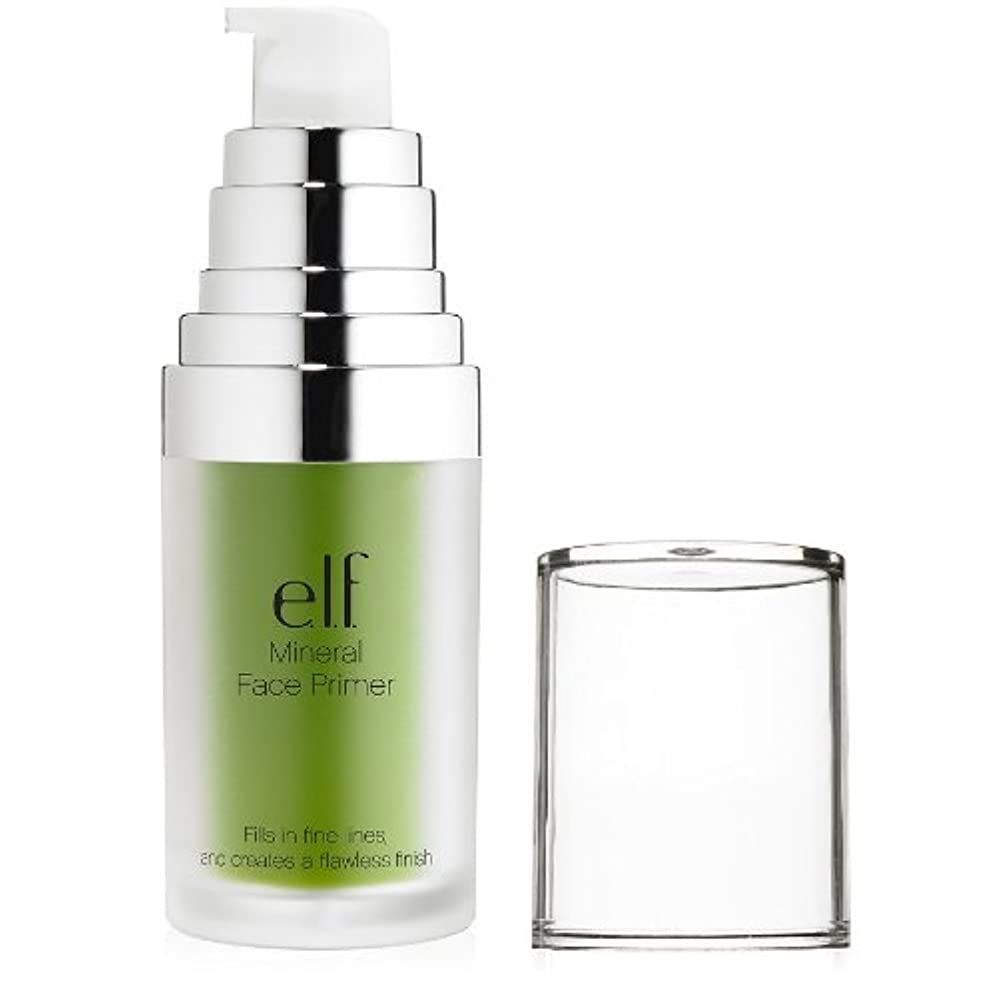 習字弾丸勇気のある(3 Pack) e.l.f. Studio Mineral Infused Face Primer - Tone Adjusting Green (並行輸入品)