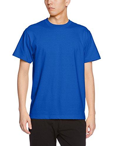 ユナイテッドアスレ 5.6オンス ハイクオリティー Tシャツ 500101 085 ロイヤルブルー L