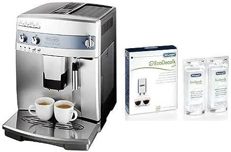 デロンギ 全自動エスプレッソマシン マグニフィカ ESAM03110S & [日本正規品]コーヒーマシン用除石灰剤100ml×2本DLSC200