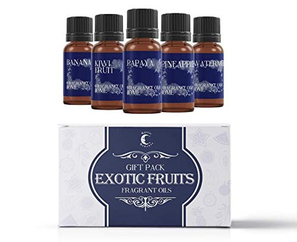 元気な近々狭いMystic Moments | Fragrant Oil Starter Pack - Exotic Fruit Oils - 5 x 10ml