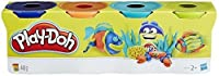 (1, Original Packaging) - Play-Doh Assortment Colour Classic Tubs (Pack of 4)