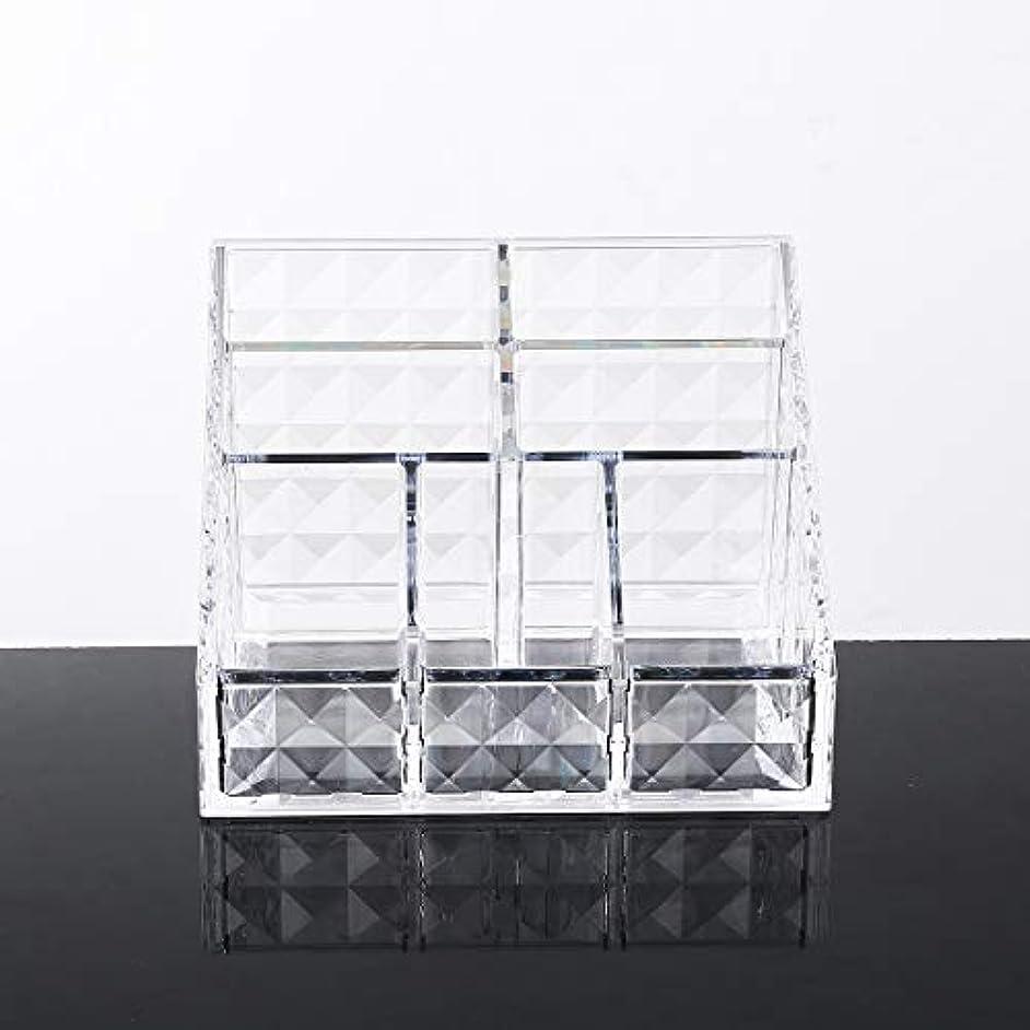 電子作家バスルームYunNasi メイクケース収納 コスメ収納ボックス アクリル製 コスメ小物入れ?化粧品収納ケース 透明
