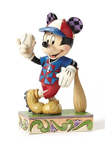 ディズニー・トラディションズ/ ベースボール ミッキーマウス スタチュー