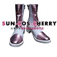 【サイズ選択可】コスプレ靴 ブーツ J-101 ファイナルファンタジーXIII-2 FF13-2 セラ・ファロン Serah 男性25CM